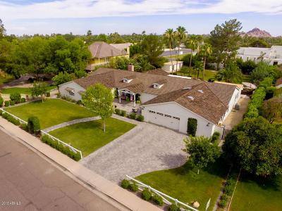 Phoenix Single Family Home For Sale: 5625 E Exeter Boulevard