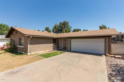 Gilbert Single Family Home UCB (Under Contract-Backups): 85 W San Remo Street