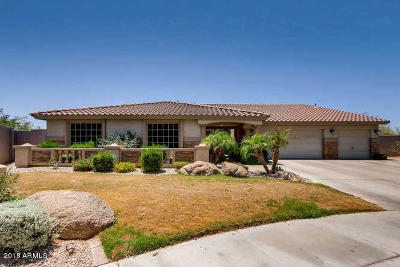 Cave Creek Single Family Home UCB (Under Contract-Backups): 27826 N 46th Place