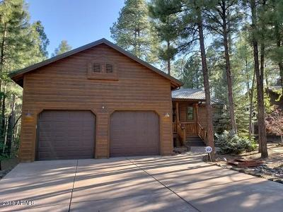 Show Low Single Family Home For Sale: 2741 W Lodgepole Lane
