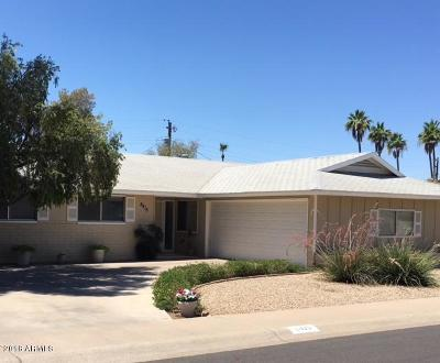 Scottsdale Single Family Home For Sale: 8415 E Piccadilly Road