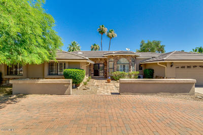 Scottsdale Single Family Home For Sale: 5344 E Paradise Drive