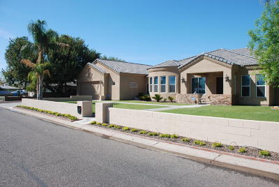 Phoenix Single Family Home UCB (Under Contract-Backups): 3610 E Hazelwood Street