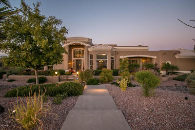 Fountain Hills Single Family Home For Sale: 16410 E Trevino Drive