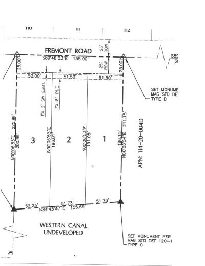 Phoenix Residential Lots & Land For Sale: 7317 S 9th Place