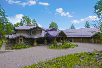 Coconino County Single Family Home For Sale: Mile 6 Forest Rd 151