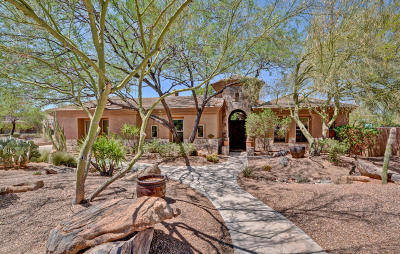 Scottsdale Single Family Home For Sale: 11051 E Meadowhill Drive
