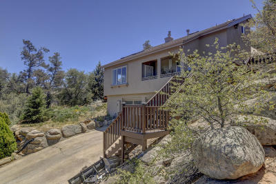 Prescott Single Family Home For Sale: 1950 W Side Winder Road