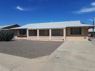 Sun City AZ Single Family Home For Sale: $145,000