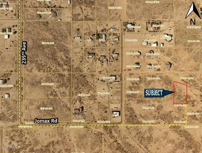 Residential Lots & Land For Sale: 23590 W Jomax Road