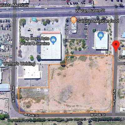 Phoenix Residential Lots & Land For Sale: 319 N 26 Avenue
