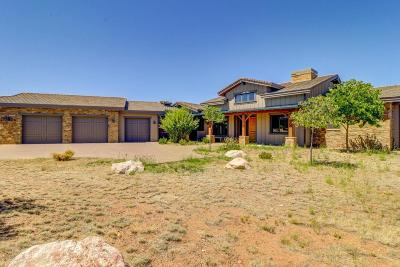 Prescott Single Family Home For Sale: 14810 N Double Adobe Road