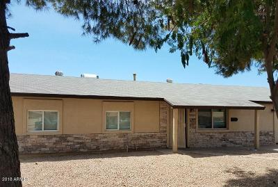 Phoenix Single Family Home For Sale: 1824 N 63rd Avenue