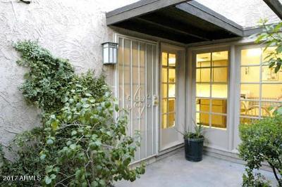 Phoenix Condo/Townhouse For Sale: 7839 N 21st Drive