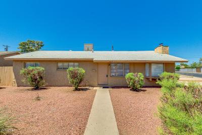 Phoenix Single Family Home For Sale: 3804 W Flower Street