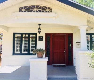 Phoenix Single Family Home For Sale: 709 E Granada Road