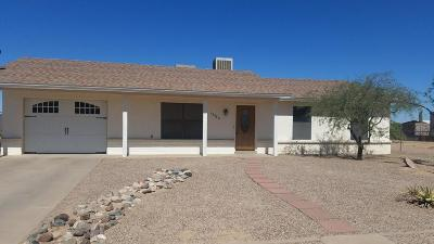 Arizona City Single Family Home For Sale: 15486 S Williams Place