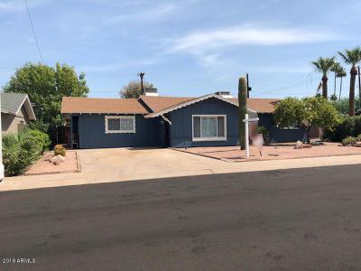 Scottsdale AZ Single Family Home For Sale: $425,000