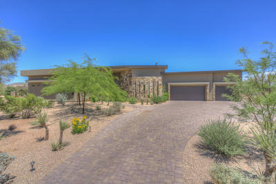 Carefree AZ Single Family Home For Sale: $890,000