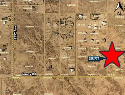 Residential Lots & Land For Sale: 23570 W Jomax Road