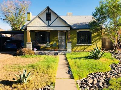 Phoenix Single Family Home For Sale: 1813 E Willetta Street