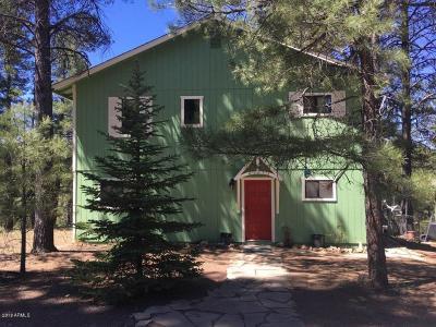 Flagstaff Single Family Home For Sale: 2515 Toho Trail