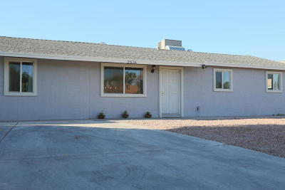 Tempe Single Family Home For Sale: 2616 W Carson Drive