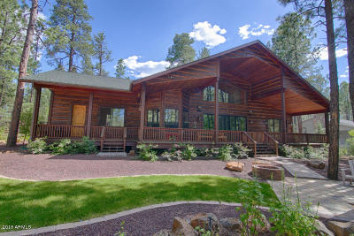 Pinetop Single Family Home For Sale: 7856 Tall Pine Drive