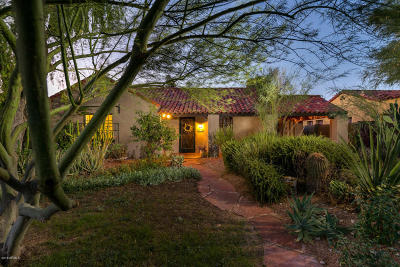 Phoenix Single Family Home For Sale: 318 W Coronado Road