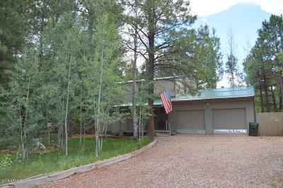 Pinetop Single Family Home For Sale: 5301 Saddle Strap Way