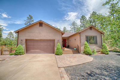 Pinetop Single Family Home For Sale: 5223 Mountain Gate Circle