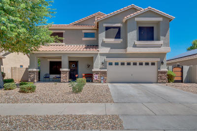 Goodyear Single Family Home For Sale: 16576 W Madison Street