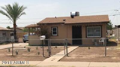 Phoenix Single Family Home For Sale: 1525 W Sherman Street
