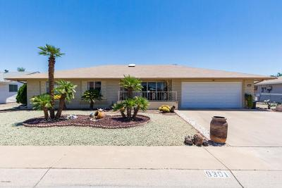 Sun City Single Family Home For Sale: 9301 W Arrowhead Drive
