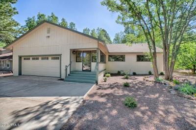 Pinetop Single Family Home For Sale: 4283 Diamond Creek Circle
