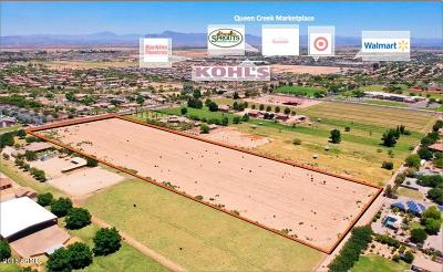 Queen Creek AZ Residential Lots & Land For Sale: $1,770,000