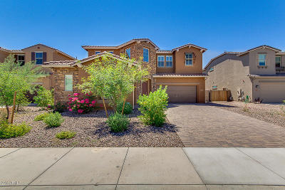 Peoria Single Family Home UCB (Under Contract-Backups): 13789 W Creosote Drive