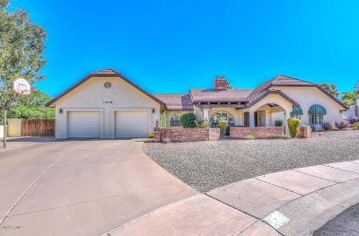 Phoenix Single Family Home For Sale: 1110 W Dahlia Drive