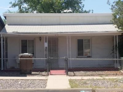 Douglas AZ Single Family Home For Sale: $65,000