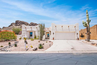 Gold Canyon East Single Family Home For Sale: 4806 S Strike It Rich Drive