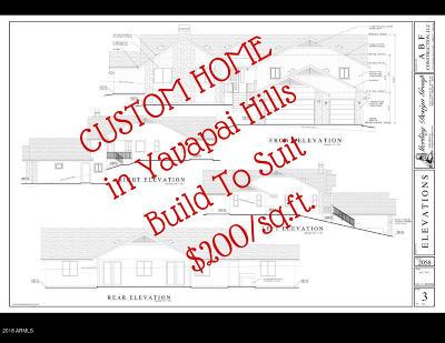 Prescott AZ Single Family Home For Sale: $565,000