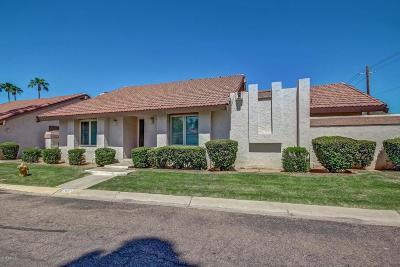 Scottsdale Condo/Townhouse For Sale: 8752 E Via Taz Norte