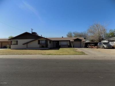 Glendale Single Family Home For Sale: 6401 W Orange Drive