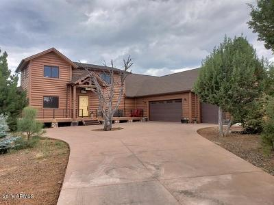 Show Low Single Family Home For Sale: 1180 S Wild Rose Lane