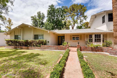 Phoenix Single Family Home For Sale: 2102 E Solano Drive