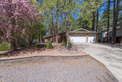 Flagstaff Single Family Home For Sale: 1140 W Ardrey Circle