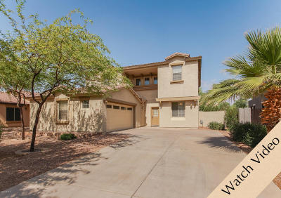 Gilbert Single Family Home For Sale: 4170 E Sidewinder Court