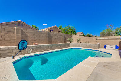 Casa Grande Single Family Home UCB (Under Contract-Backups): 528 E Wolf Hollow Drive