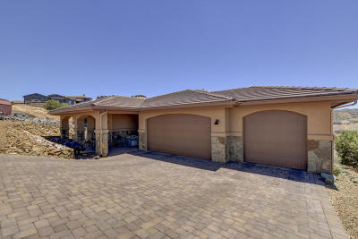 Prescott Single Family Home For Sale: 3165 Bar Circle A Road