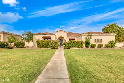 Gilbert Single Family Home For Sale: 6517 S Oakwood Way